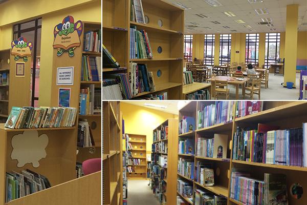 kl library @ ttdi