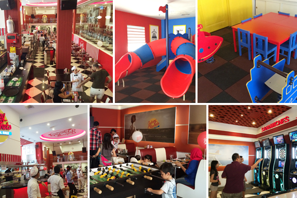 Restaurants And Cafés Where Kids Can Play
