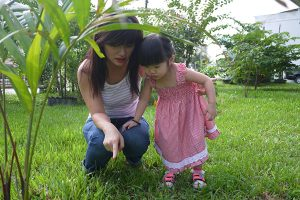 Rane Chin, mother of Ong Jia Rye (6 years old), and Ong Jia Xuan (2 years old)