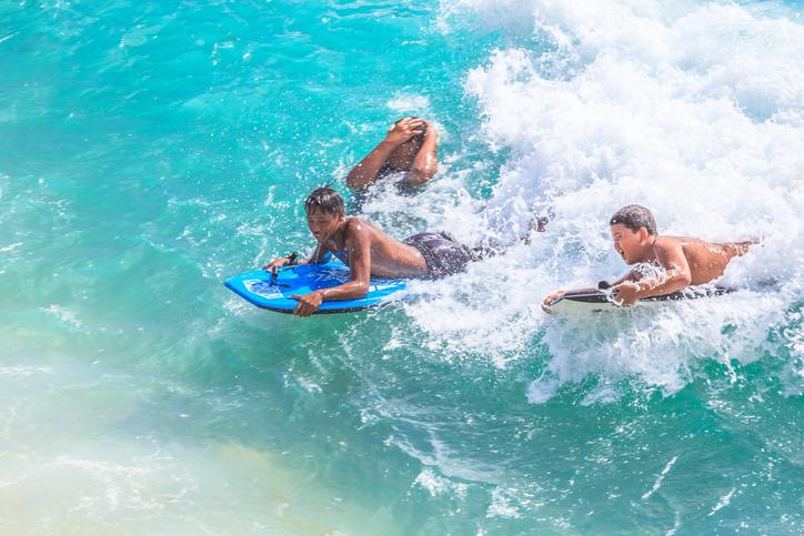 Boogie board Waikiki