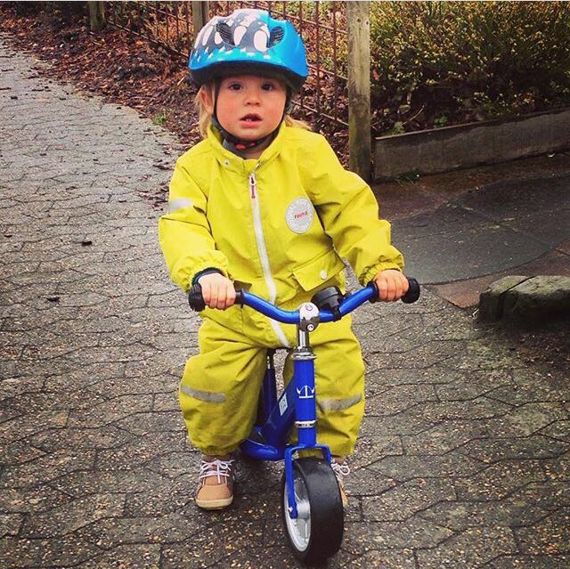 The snowsuit and bicycle are two essential childhood items in Denmark - Photo courtesy of Karin Rosen