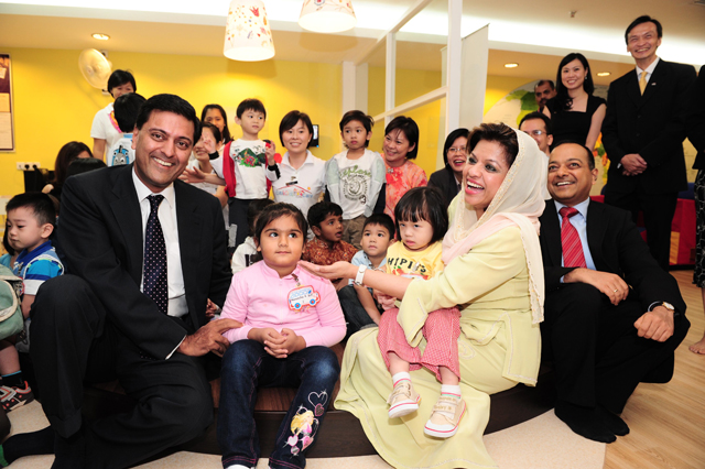 The launch of CitiKids Care in 2010 - Picture credit: Citibank