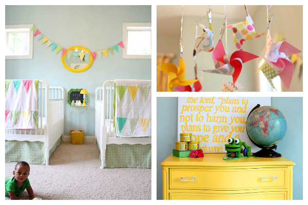 Gender Neutral Kids Rooms shared kids room inspiration: 7 chic ideas