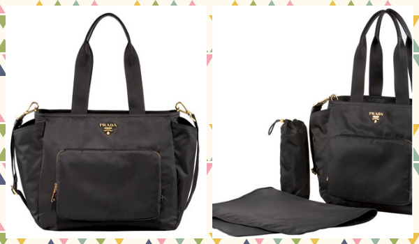 designer disper bag o83p  Diaper Bag Prada
