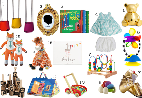 15 Gift Ideas to Make Your Baby's First Christmas Extra Special