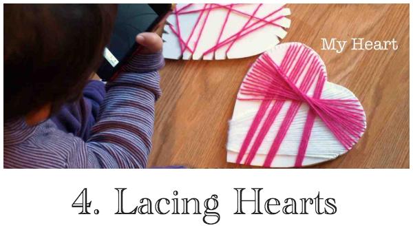 4 Lacing Hearts