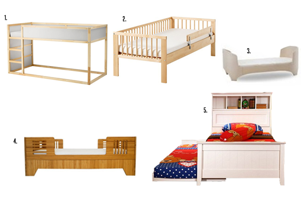 1 KURA Reversible Bed RM749 IKEA 2 Frame With Slated Base RM499 3 Convertible Crib Leander Mattress RM5139 Lolibeans