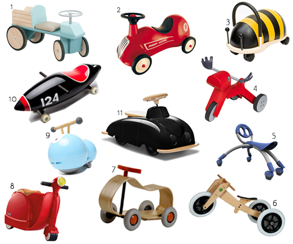 Cool Toys For Toddlers : Cool ride on toys for modern toddlers