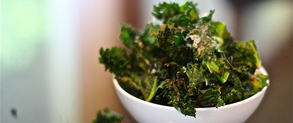 Baked Kale