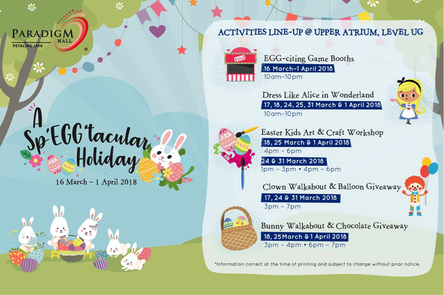 Kids Activities To Look Out For In Malaysia In April 2018 Makchic